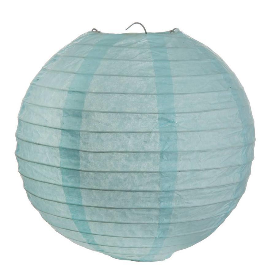 Lampion bleu (2 pièces) diamètre 30 cm-1
