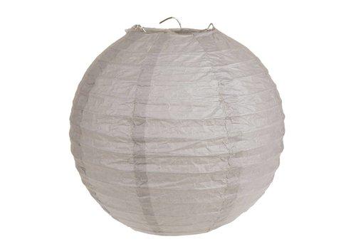 Lampion taupe (2 stuks) diameter 30 cm