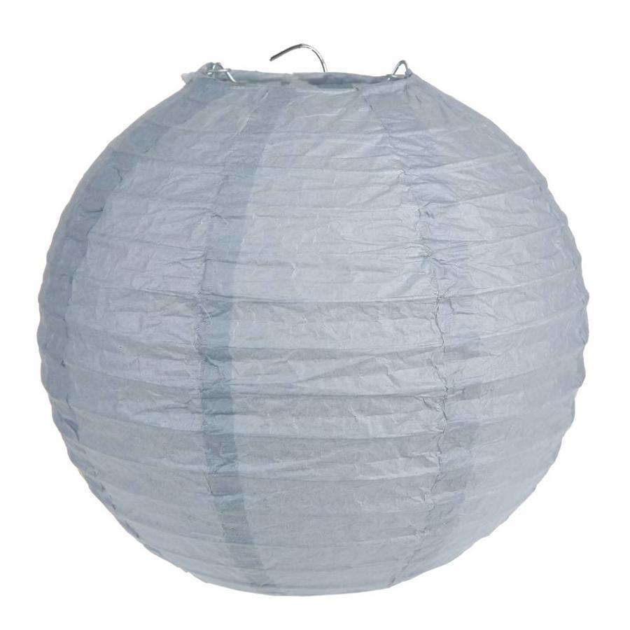 Lampion grijs diameter 50 cm-1
