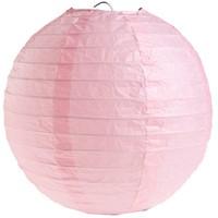 thumb-Lampion roze diameter 50 cm-1
