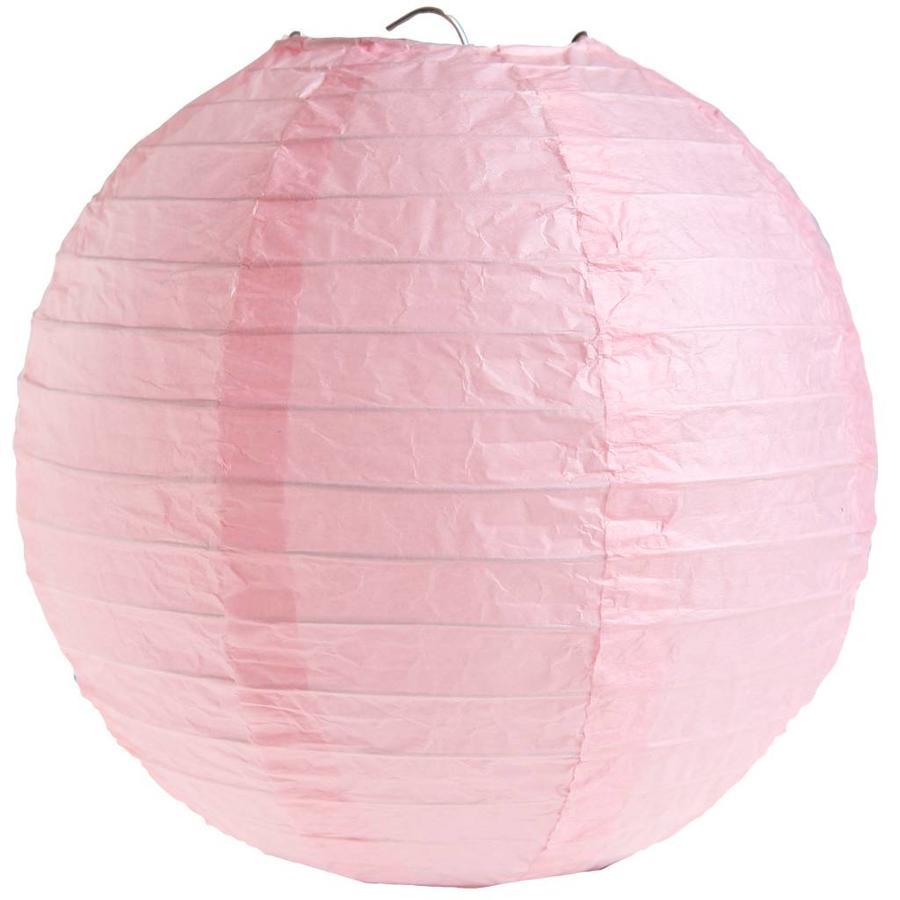 Lampion roze diameter 50 cm-1