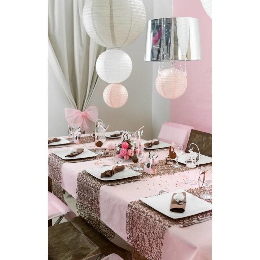 Lampion roze diameter 50 cm-2