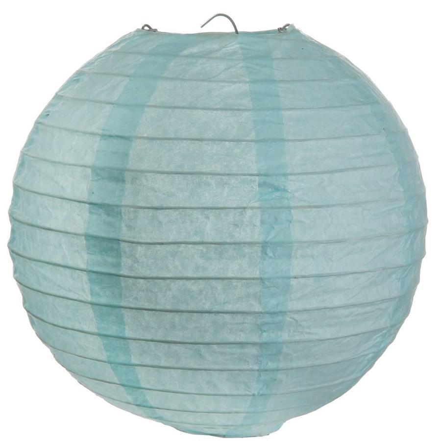 Lampion blauw diameter 50 cm-1