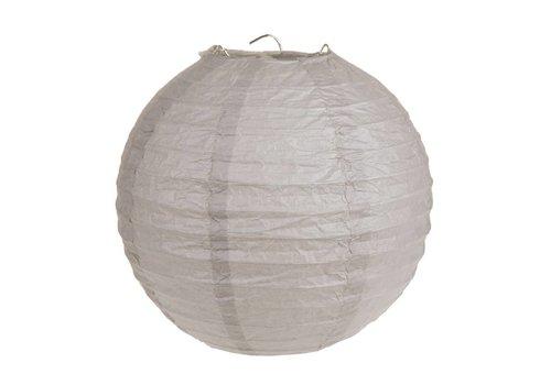 Lampion taupe (2 stuks) diameter 20 cm