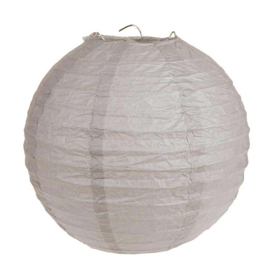 Lampion taupe (2 stuks) diameter 20 cm-1