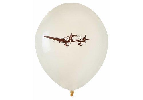 Ballon travel vliegtuig (8 stuks)