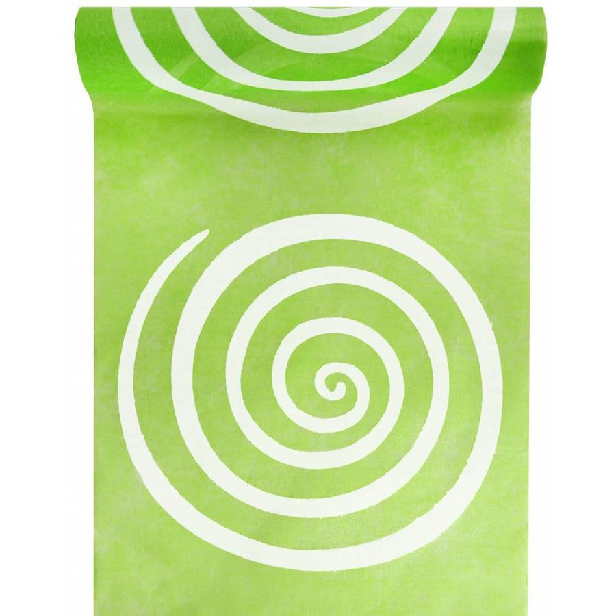 Tafelloper Spiraal lime-1