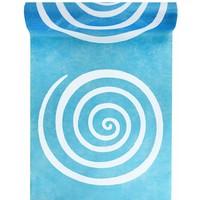 thumb-Tafelloper Spiraal lime blauw-1