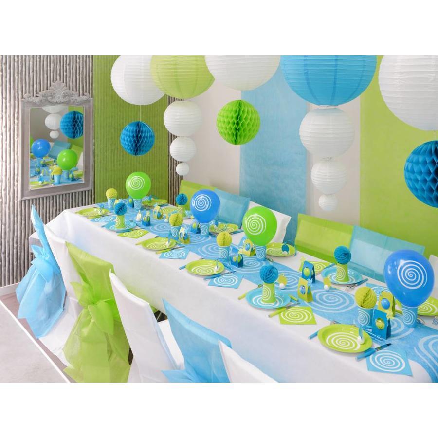 Ballon spiraal blauw (8 stuks)-3