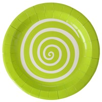 thumb-Bordjes spiraal lime (10 stuks)-1