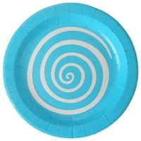 thumb-Bordjes spiraal blauw (10 stuks)-1