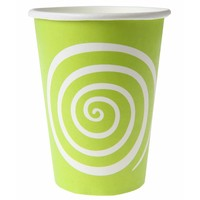 thumb-Bekertje spiraal lime (10 stuks)-1