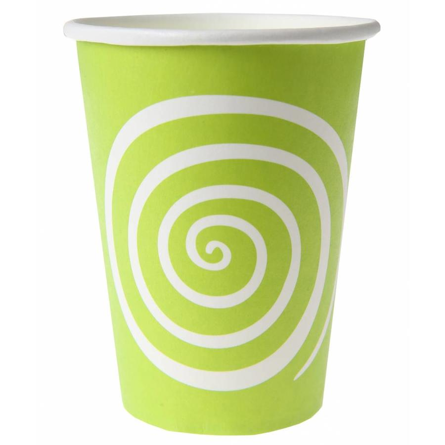 Bekertje spiraal lime (10 stuks)-1