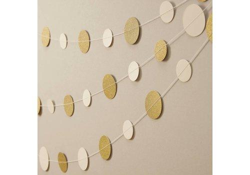 Gouden confetti slinger