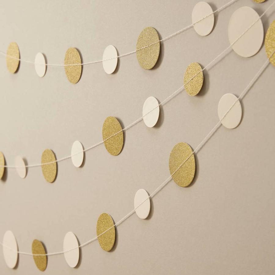 Gouden confetti slinger-1