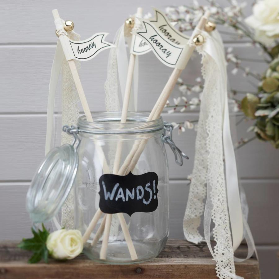 Tafel vlaggetjes (Wedding Wands)(10 stuks)-3