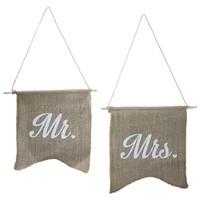 thumb-Jute vlaggetjes Mr & Mrs-1