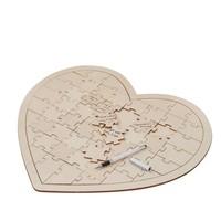 thumb-Alternatief gastenboek, houten puzzel-1