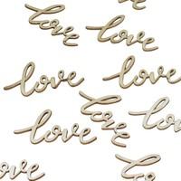 thumb-Tafel confetti love (25 stuks)-1