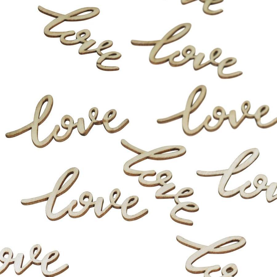Tafel confetti love (25 stuks)-1