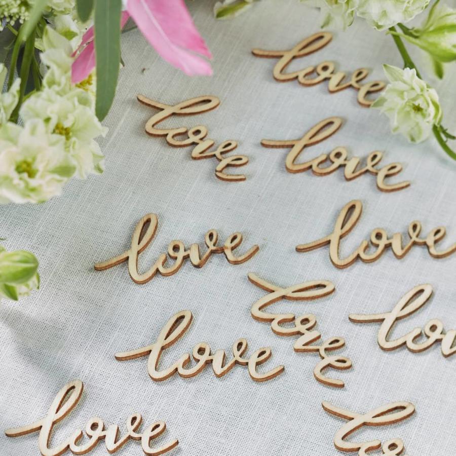 Tafel confetti love (25 stuks)-2