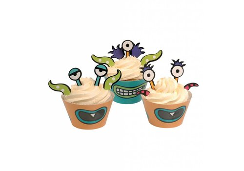 Cupcake Monster set