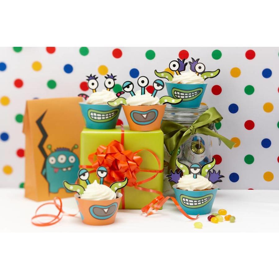 Cupcake Monster set-2