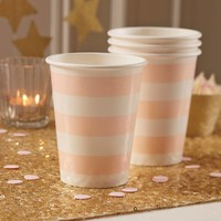 thumb-Bekertje party roze (8 stuks)-2