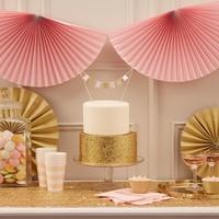 thumb-Bekertje party roze (8 stuks)-3