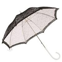 thumb-Kanten paraplu zwart-2