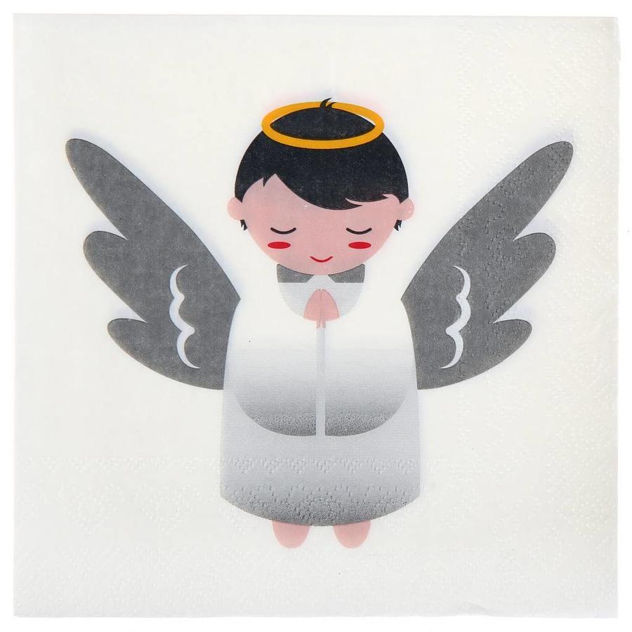 Servetten engeltje (20 stuks)-1