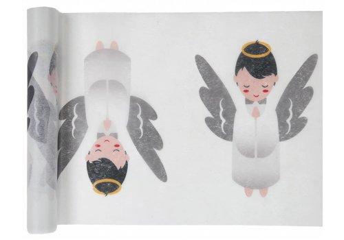 Tafelloper wit engel
