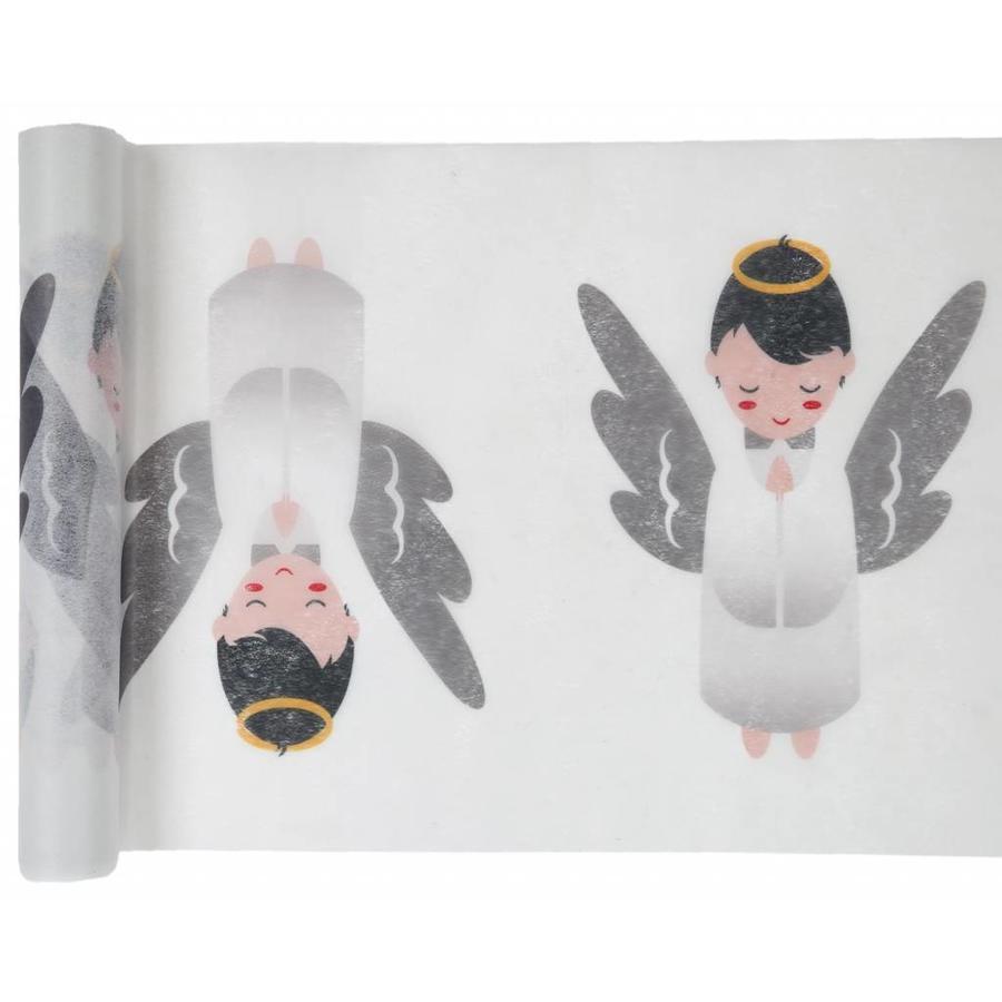 Tafelloper wit engel-1