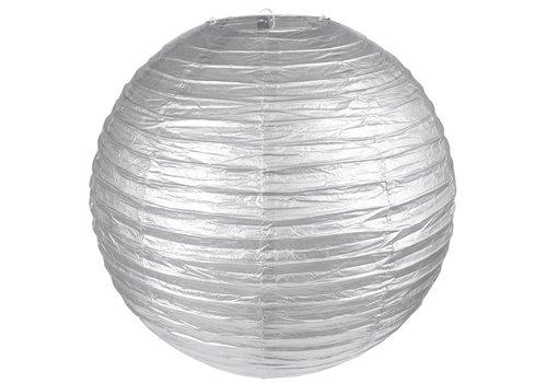 Lampion zilver diameter 30 cm