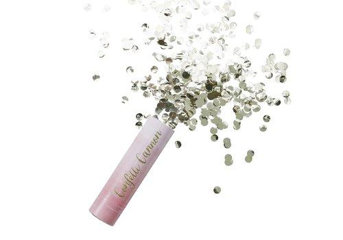Roze confetti kanon