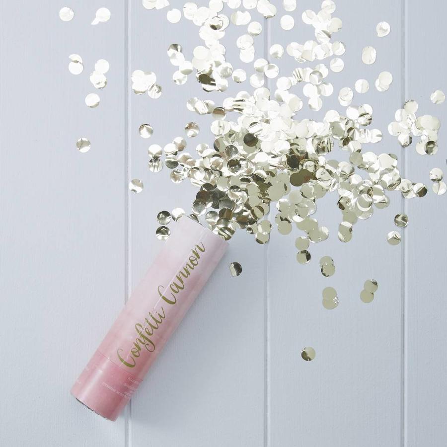 Roze confetti kanon-2