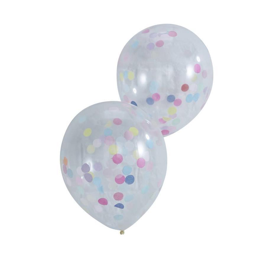 Confetti ballon (5 stuks)-1