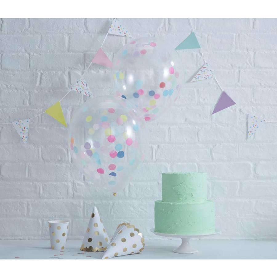 Confetti ballon (5 stuks)-2