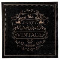 thumb-Servetten vintage (20 stuks)-1