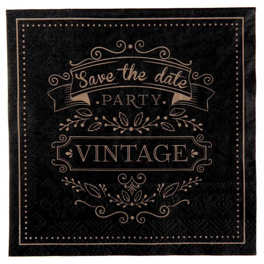 Servetten vintage (20 stuks)-1