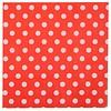 Perfect Decorations Servet bolletjes rood (20 stuks)
