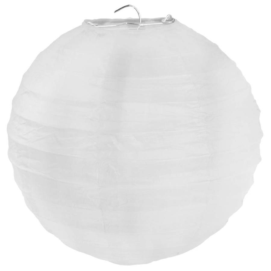Lampion wit diameter 75 cm-1