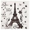 Perfect Decorations Servetten Parijs (20 stuks)