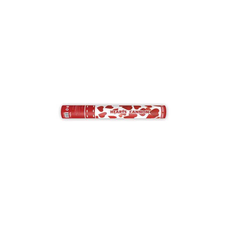 Confetti kanon rode hartjes-1
