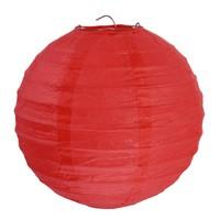 thumb-Lampion rood diameter 20 cm (2 stuks)-1