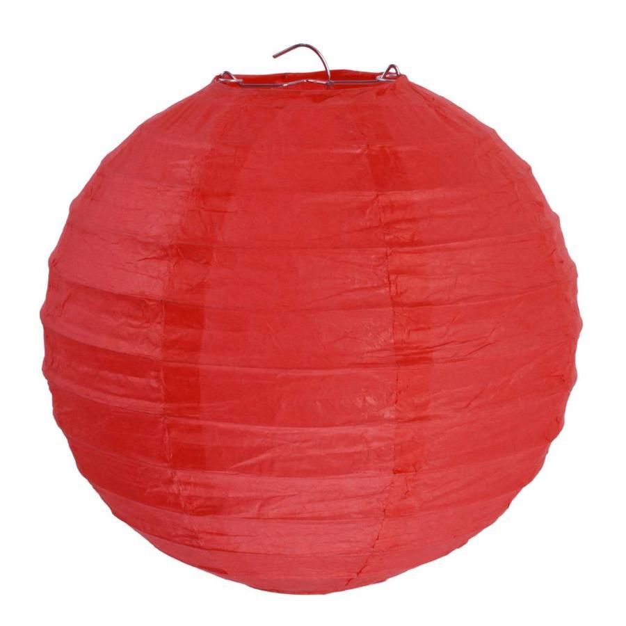Lampion rood diameter 20 cm (2 stuks)-1