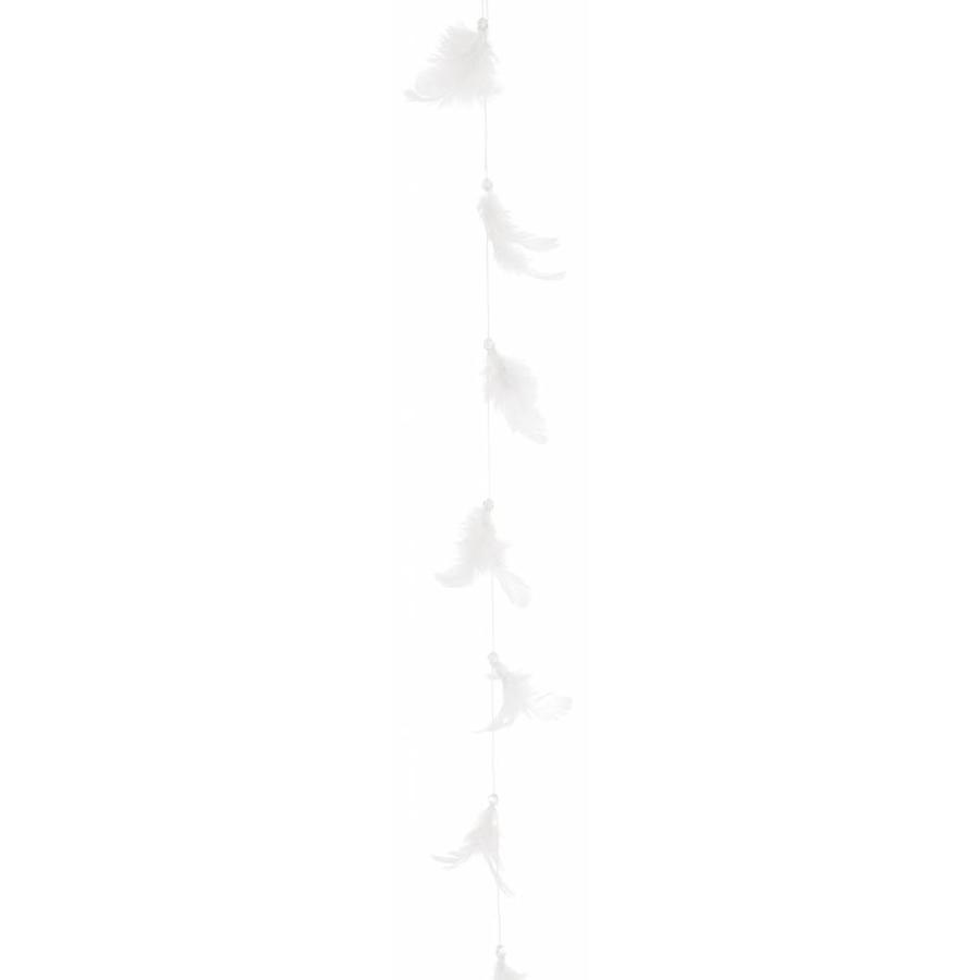 Vederen slinger wit 1 m-1