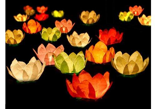 Drijvende lantaarns (6 stuks)