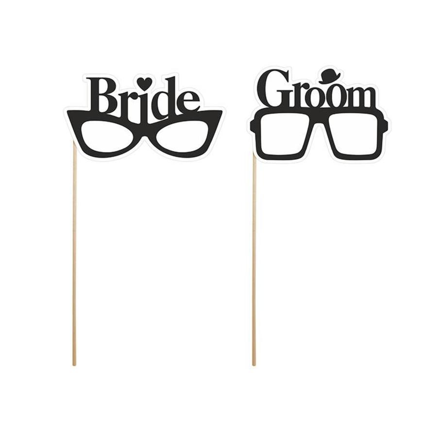 Photo props Bride & Groom-1