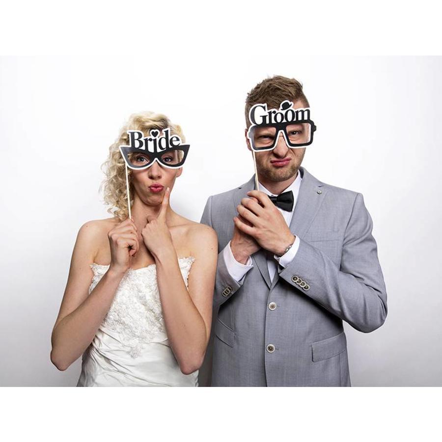 Photo props Bride & Groom-2